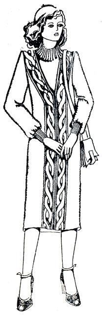 140. Длина спины и длина изделия